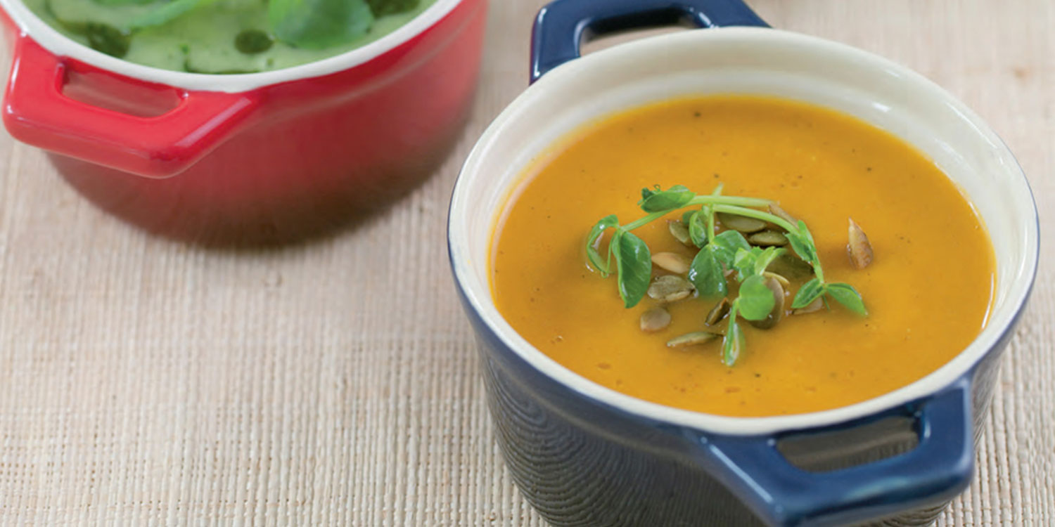 Gingery Squash Soup