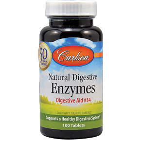 JR Carlson Natural Digestive Enzymes