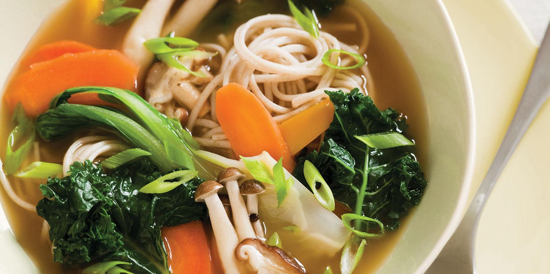 Buckwheat Noodle Bowl