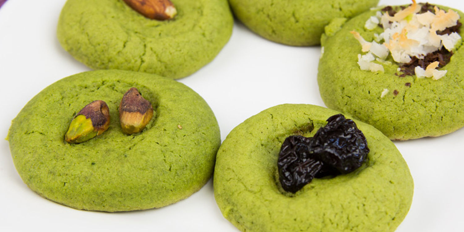 Matcha Cookie Bites