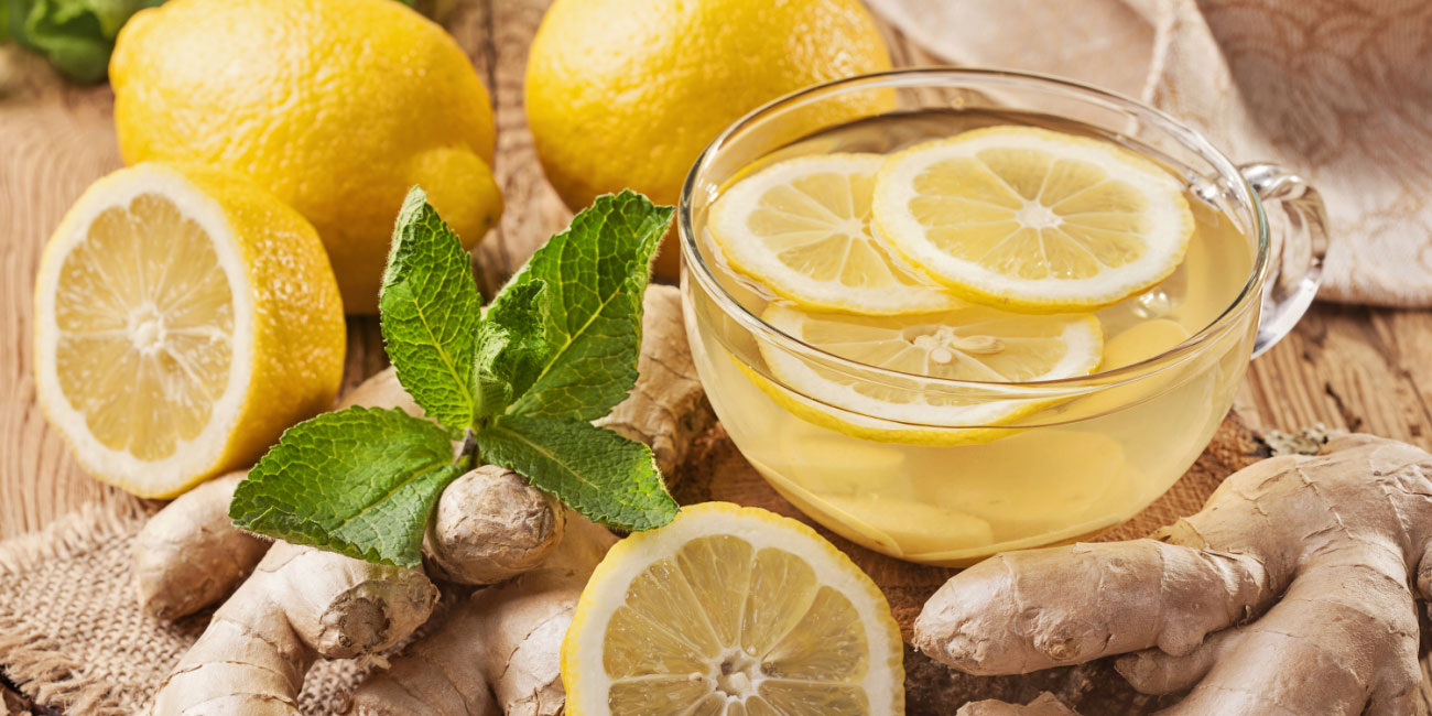 Ginger Tea and Citrus Fruits