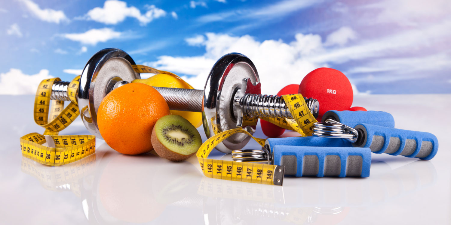 exercise and a healthy diet